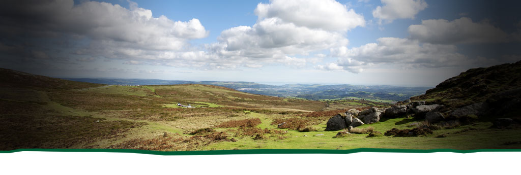 Scenic walks on Dartmoor